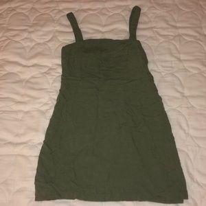 olive straight dress